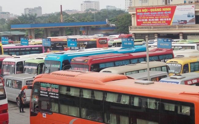 Khách giảm đến 50%, bến xe Hà Nội miễn phí dịch vụ cho nhà xe