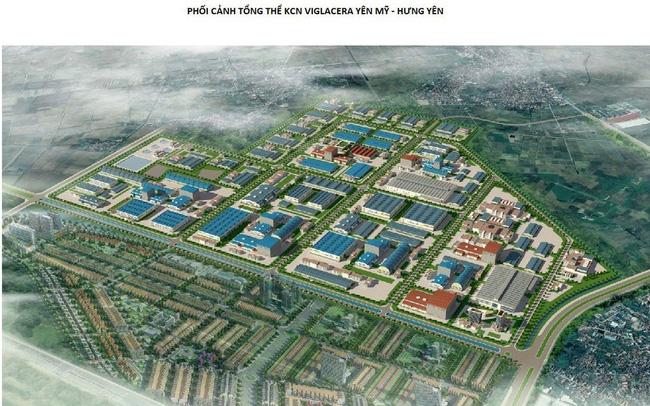 Hưng Yên 'tuýt còi' dự án khu công nghiệp của Viglacera
