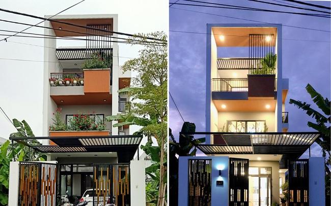 Nhà phố 3 tầng lấy gió và sáng có thiết kế ấn tượng