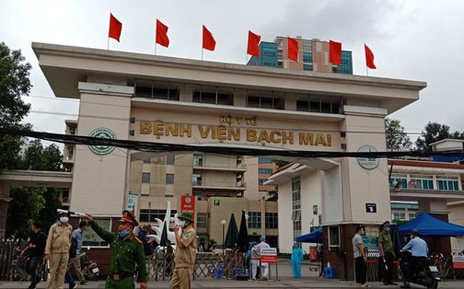 """Chủ tịch Hà Nội: Chấm dứt cách ly y tế đối với """"ổ dịch"""" Bệnh viện Bạch Mai từ ngày 12-4"""