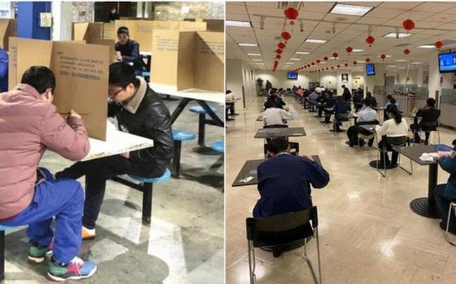"""Đi ăn nhưng vẫn không quên phòng dịch: Quán xá khắp châu Á tung ra một loạt """"chiêu thức"""" khó đỡ, hạn chế cho khách tiếp xúc với nhau"""