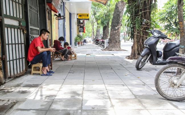 Cận cảnh vỉa hè mới trên những tuyến phố trung tâm của Thủ đô