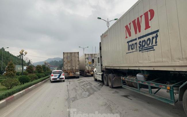 Cửa khẩu Tân Thanh tăng thời gian thông quan hàng hóa sang Trung Quốc