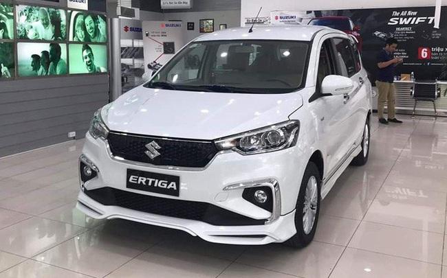 Thiếu xe mới nhưng thừa hàng tồn, Suzuki Ertiga giảm giá kỷ lục, rẻ hơn Mitsubishi Xpander cả trăm triệu đồng