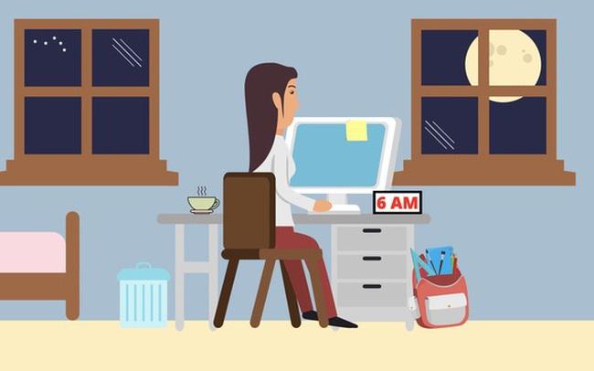 Làm việc từ 4h sáng nhưng mãi chẳng nên trò trống, tôi nhận ra mấu chốt của thành công không nằm ở dậy sớm