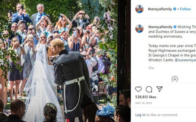 Vợ chồng Meghan Markle bị Nữ hoàng Anh đối xử lạnh nhạt ngay trong dịp kỷ niệm 2 năm ngày cưới