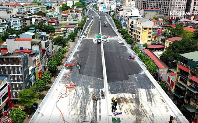 Vingroup đã giải ngân hơn 5.800 tỷ đồng vào dự án đường Vành đai 2