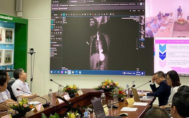 Bác sĩ tại Hà Nội phẫu thuật tim cho bệnh nhân ở Quảng Ninh nhờ công nghệ Telehealth