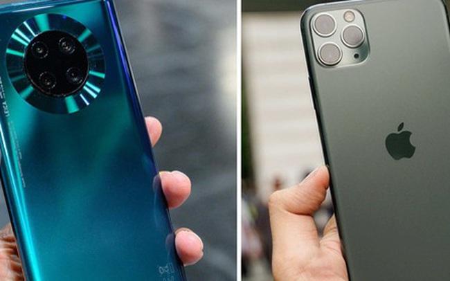 """Đại hạ giá 7 triệu đồng, """"xuống tiền"""" mua Huawei Mate 30 Pro hay iPhone 11?"""