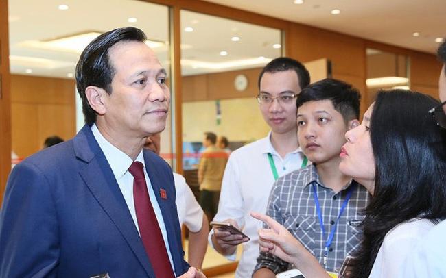 Bộ trưởng Đào Ngọc Dung: Tiền hỗ trợ rơi vào nhà quan, tai tiếng cả đời