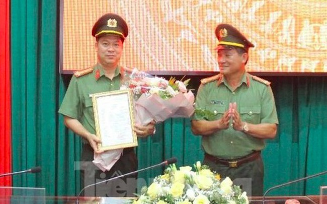 Giám đốc Công an tỉnh Thái Bình được thăng hàm đại tá