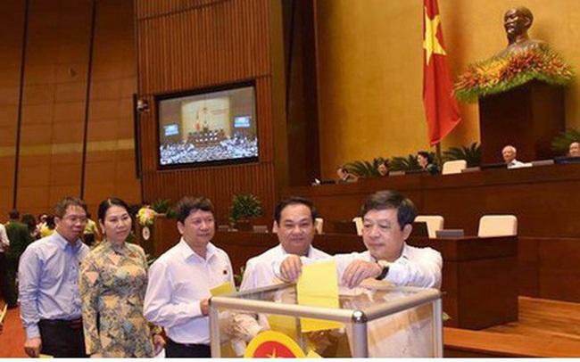 Quốc hội bầu Chủ tịch Hội đồng bầu cử Quốc gia, miễn nhiệm bà Nguyễn Thanh Hải