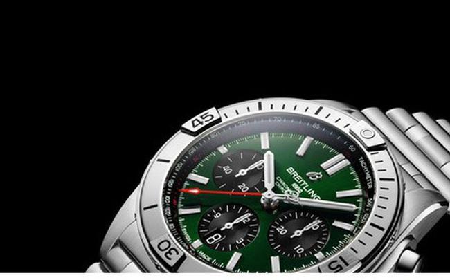 Chiêm ngưỡng mẫu đồng hồ 8.000 USD của Bentley và Breitling