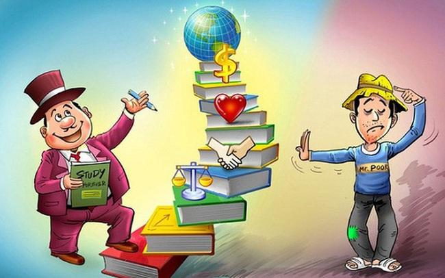 Khác biệt: Người nghèo thích sướng trước rồi cày trả nợ, còn người giàu thích hưởng thụ sau khi cực khổ kiếm tiền