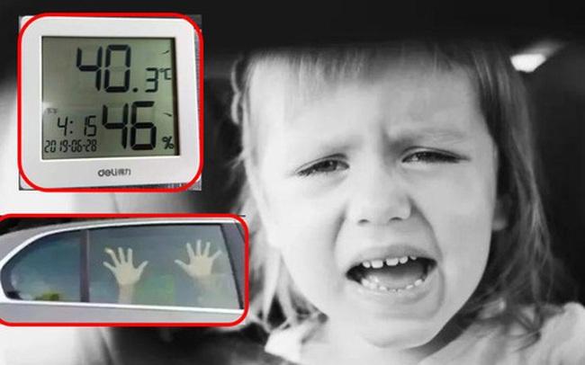 Thảm kịch mùa hè: ở Mỹ cứ 9 ngày lại có 1 đứa trẻ tử vong vì bị bỏ quên trong xe, còn bao nhiêu phụ huynh bất cẩn thế này?