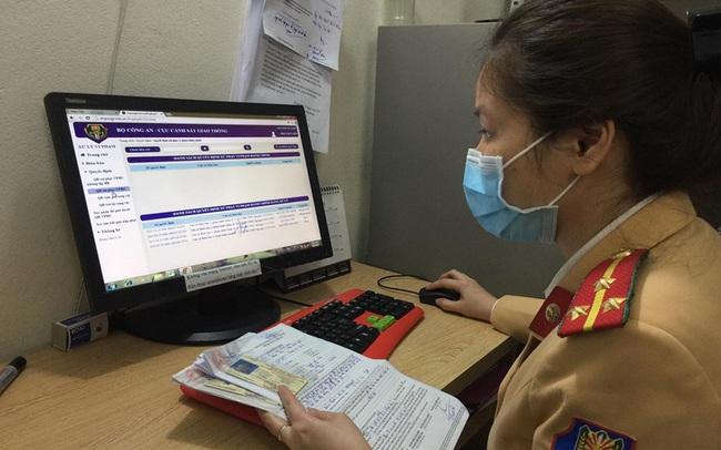 Hàng nghìn lượt vi phạm, chỉ một người nộp phạt qua mạng ở Hà Nội