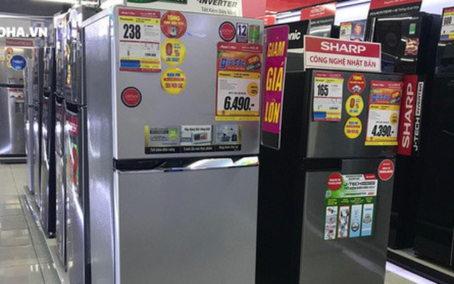 Tủ lạnh hạng sang siêu tiết kiệm điện giảm giá tới 50%