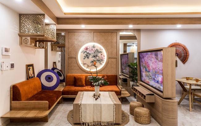 Căn chung cư 75m2 đẹp cuốn hút với chi phí 400 triệu đồng