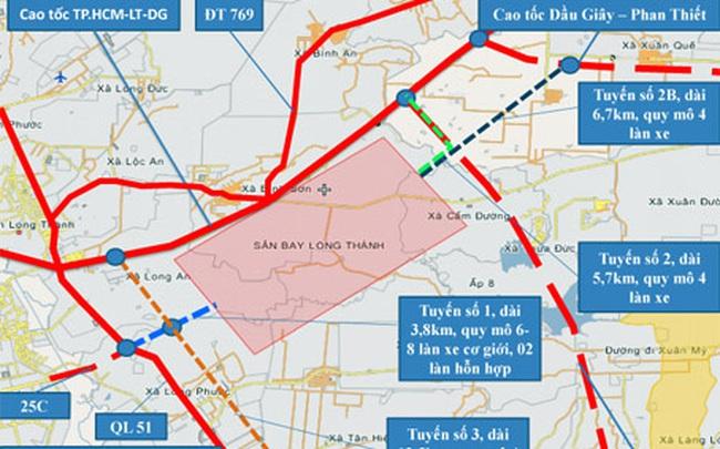 2 tuyến đường kết nối sân bay Long Thành đang được thực hiện ra sao?