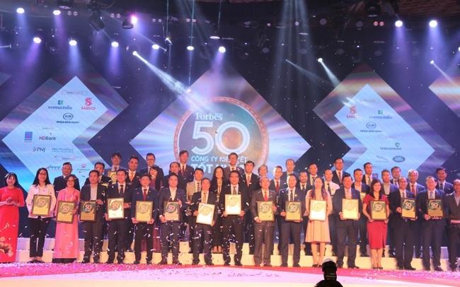 50 công ty niêm yết tốt nhất Việt Nam 2020 của Forbes Việt Nam gọi tên hàng loạt ngân hàng