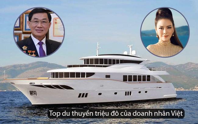 """Nhìn lại những du thuyền lên tới vài triệu đô đắt giá của giới doanh nhân Việt, có chiếc lên tới cả trăm tỉ khiến dân tình gọi luôn """"biệt thự trên biển"""""""