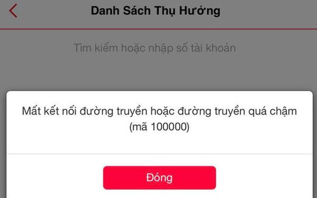 Internet banking của Techcombank lại gặp sự cố, hotline không thể liên lạc?
