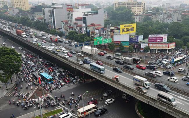 Khởi công xây dựng hầm chui Lê Văn Lương - vành đai 3, tuyến đường huyết mạch thường xuyên ùn tắc giờ tan tầm