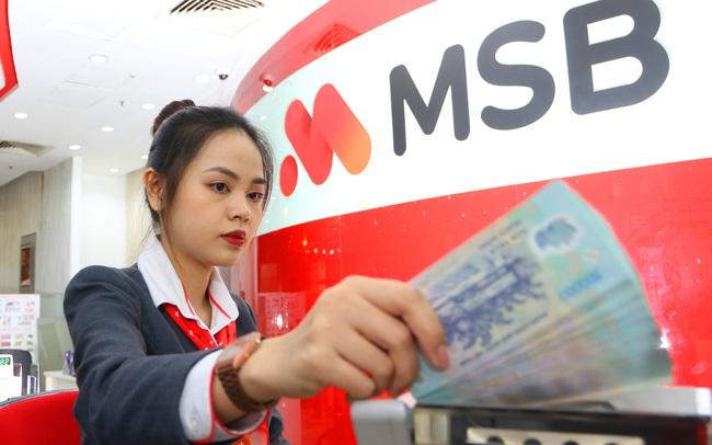 Lợi nhuận của MSB tăng gần 60% trong 9 tháng đầu năm, tỷ lệ nợ xấu 2,34%