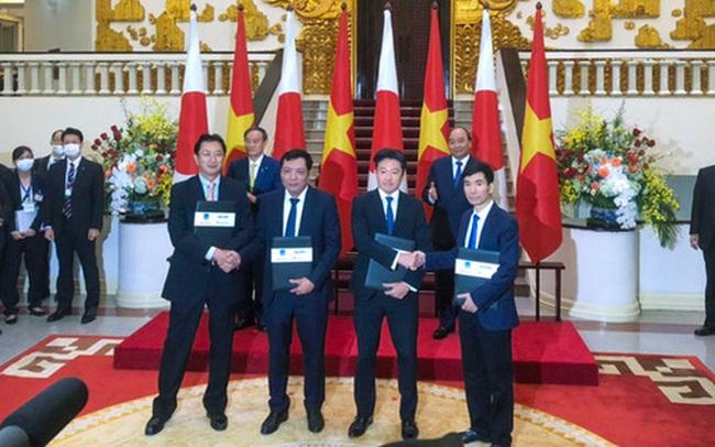 """Những doanh nghiệp """"trúng"""" dự án điện khí LNG """"khủng"""" trong dịp Thủ tướng Nhật Bản thăm Việt Nam"""