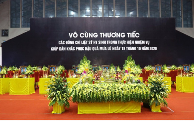 Lễ viếng và truy điệu 22 liệt sĩ Đoàn KTQP 337 hy sinh khi đang làm nhiệm vụ