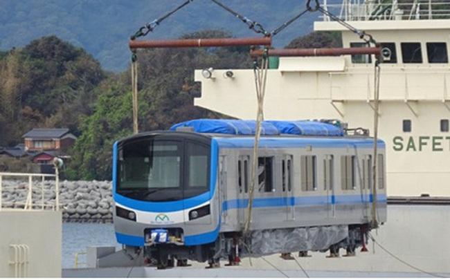 Các toa tàu đầu tiên của tuyến Metro số 1 sẽ về Việt Nam trong tháng này