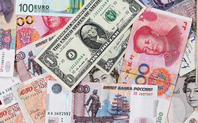 [Chart] Nhân dân tệ rướn lên, USD lùi nhẹ trong dự trữ ngoại hối toàn cầu
