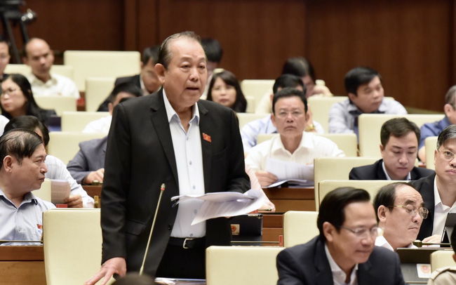 Phó Thủ tướng Thường trực trả lời chất vấn vụ Công ty Thuận Phong