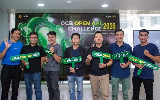 8 ý tưởng xuất sắc lọt vào chung kết cuộc thi OCB OPEN API CHALLENGE 2020