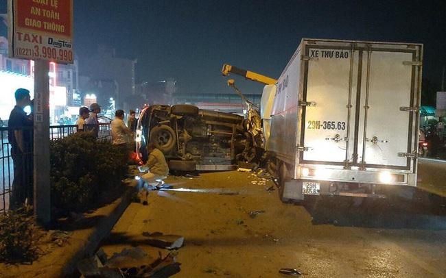 Xe Fortuner mất lái lao sang làn đường ngược chiều, đâm tài xế xe tải tử vong