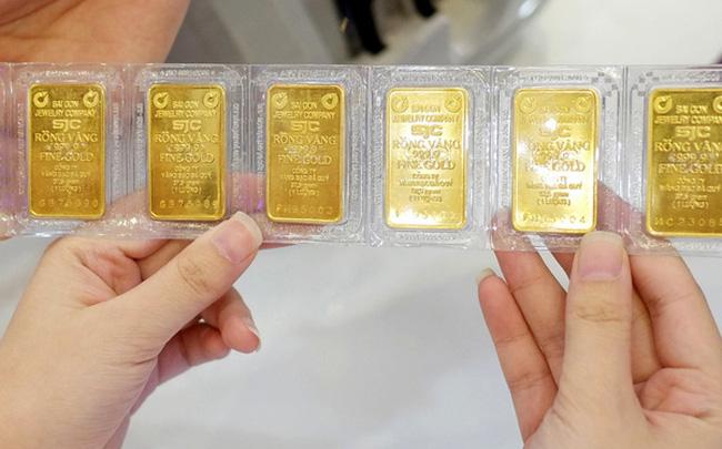 Giá vàng sáng 14/11 tăng 100 nghìn đồng/lượng
