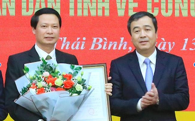 Thái Bình bổ nhiệm Trưởng Ban Nội chính, Chánh Văn phòng UBND tỉnh