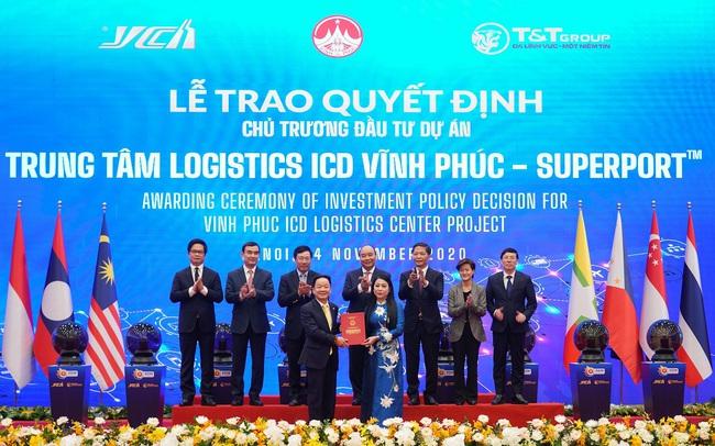 T&T Group bắt tay tập đoàn Singapore triển khai trung tâm logistics quy mô 83ha tại Vĩnh Phúc