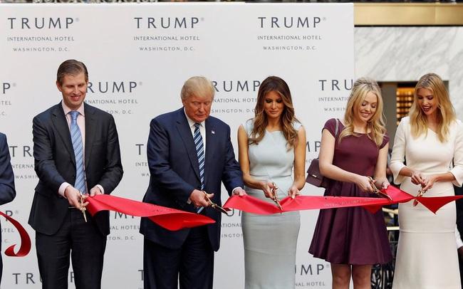 Đế chế kinh doanh 4 đời của nhà Trump sẽ ra sao sau ngày 20/1/2021?