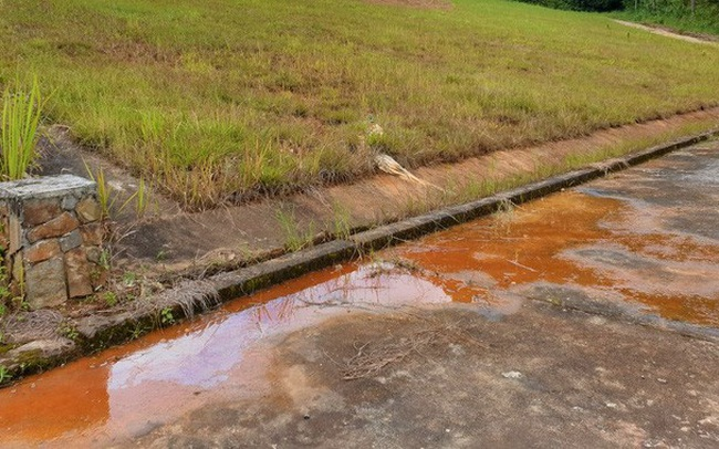 Cận cảnh sụt lún bất thường đe dọa hồ Tuyền Lâm
