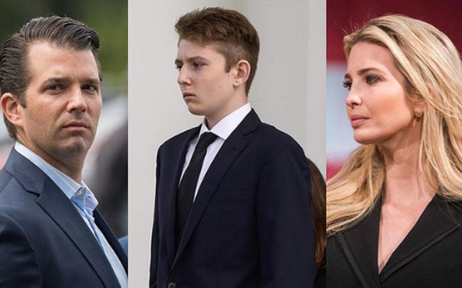 Khi các con lớn nhà ông Trump từng dính tin đồn bắt nạt em kế, quan hệ thật sự giữa Barron Trump với anh chị cùng cha khác mẹ ra sao?