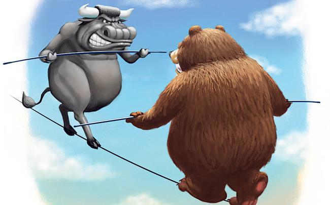 VnIndex tăng 18 điểm trong sự ngỡ ngàng của nhà đầu tư, hàng loạt cổ phiếu tăng mạnh mẽ