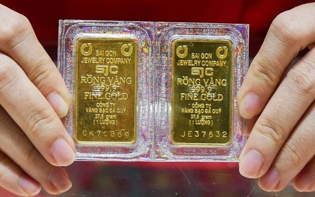 Giá vàng trong nước sáng 19/11 tiếp tục giảm