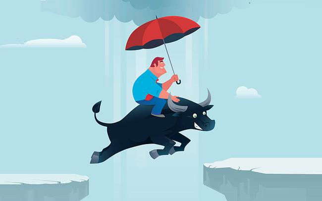 VnIndex tăng vọt 10 điểm, dòng tiền dồn dập giao dịch trên thị trường chứng khoán