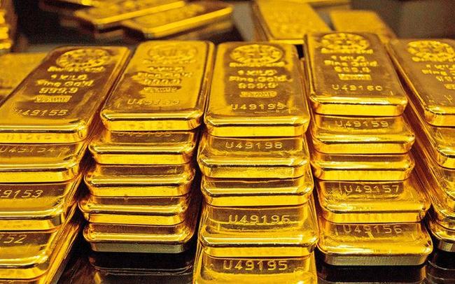 Giá vàng xuống thấp nhất 1 tuần