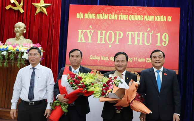 Ông Nguyễn Hồng Quang giữ chức Phó chủ tịch UBND tỉnh Quảng Nam