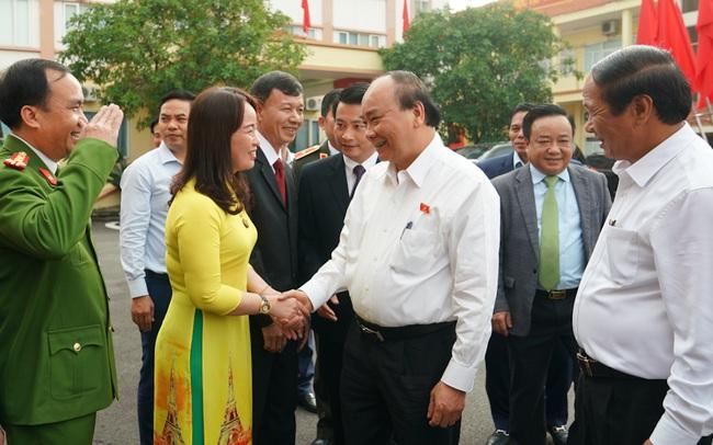 CHÙM ẢNH: Thủ tướng tiếp xúc cử tri TP. Hải Phòng
