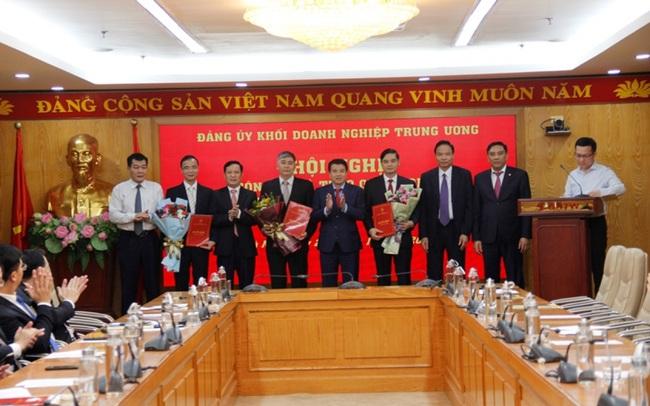 Đảng ủy Khối Doanh nghiệp Trung ương trao quyết định bổ nhiệm cán bộ