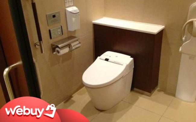 Người Nhật ở sạch đến mức nào? Chỉ cần ngó qua các vật dụng trong nhà vệ sinh là rõ