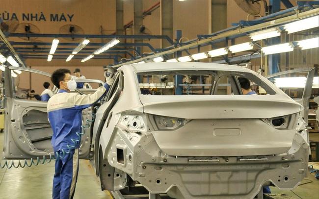 Ô tô lắp ráp ở Việt Nam phải nhập 80% linh kiện